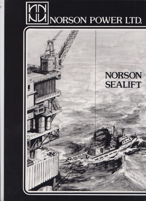 Norson Power Ltd - Norson Sealift | Original photo in the Dowty archive at the Gloucestershire Heritage Hub