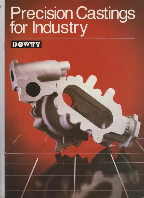 Dowty Precision Castings - Precision Castings for Industry   Original photo in the Dowty archive at the Gloucestershire Heritage Hub