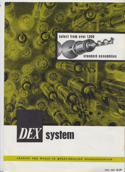 Dex Machine Tools - Dex System | Original photo in the Dowty archive at the Gloucestershire Heritage Hub