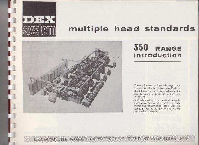 Dex Machine Tools - Dex System 350 Range | Original photo in the Dowty archive at the Gloucestershire Heritage Hub