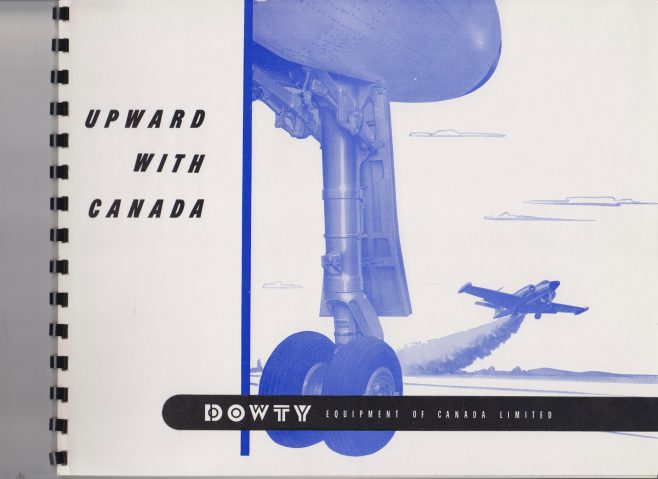 Dowty Equipment of Canada - Upward with Canada | Original photo in the Dowty archive at the Gloucestershire Heritage Hub