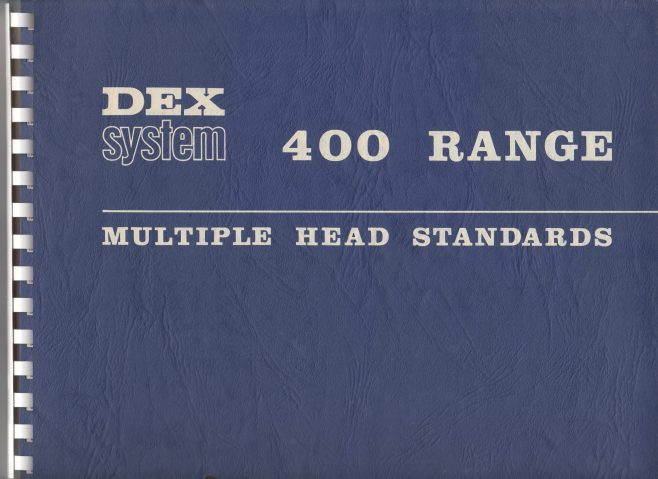 Dex Machine Tools - Dex System 400 Range   Original photo in the Dowty archive at the Gloucestershire Heritage Hub