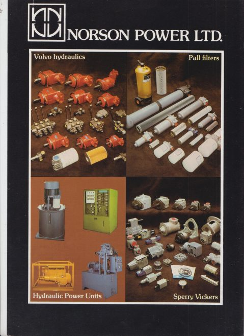 Norson Power Ltd - Product Information Sheets | Original photo in the Dowty archive at the Gloucestershire Heritage Hub