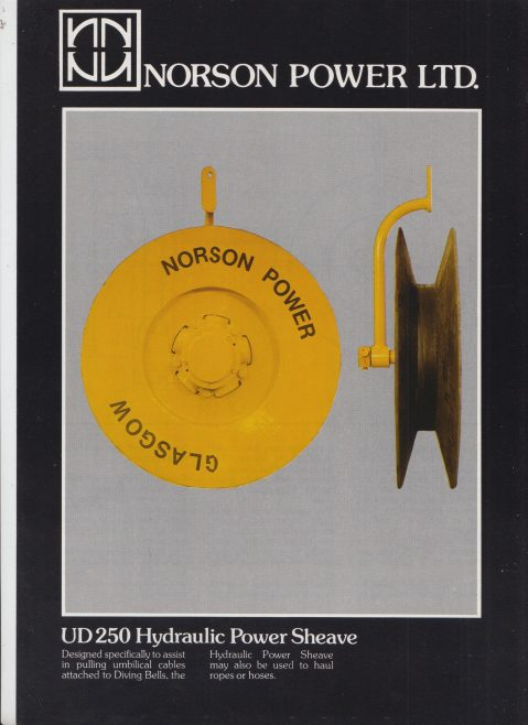 Norson Power Ltd - UD 250 Hydraulic Power Sleeve | Original photo in the Dowty archive at the Gloucestershire Heritage Hub