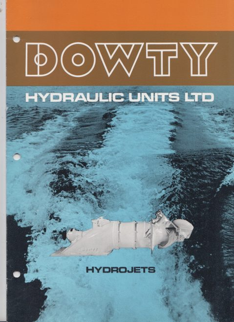 Dowty Hydraulic Units - Hydrojets | Original photo in the Dowty archive at the Gloucestershire Heritage Hub