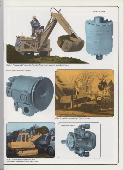 Dowty Hydraulic Units - Company Profile | Original photo in the Dowty archive at the Gloucestershire Heritage Hub