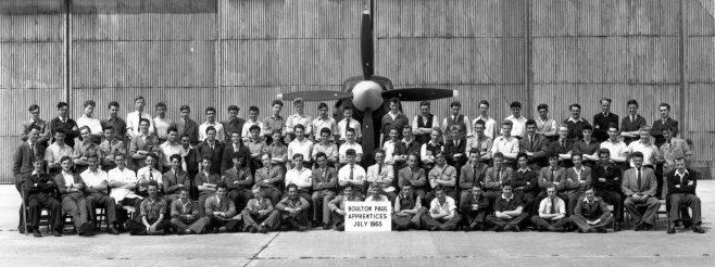 Boulton Paul Apprentices - 1955 | Chris Wedge