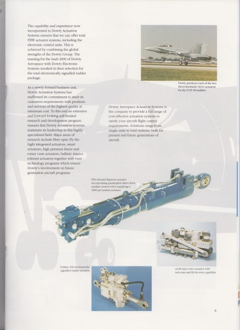 Dowty Aerospace - Actuation Systems   Original photo in the Dowty archive at the Gloucestershire Heritage Hub
