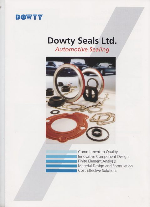 Dowty Seals - Automotive Sealing  | Original photo in the Dowty archive at the Gloucestershire Heritage Hub