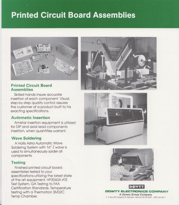 Dowty Electronics - Assemblies, Products, Components | Original photo in the Dowty archive at the Gloucestershire Heritage Hub