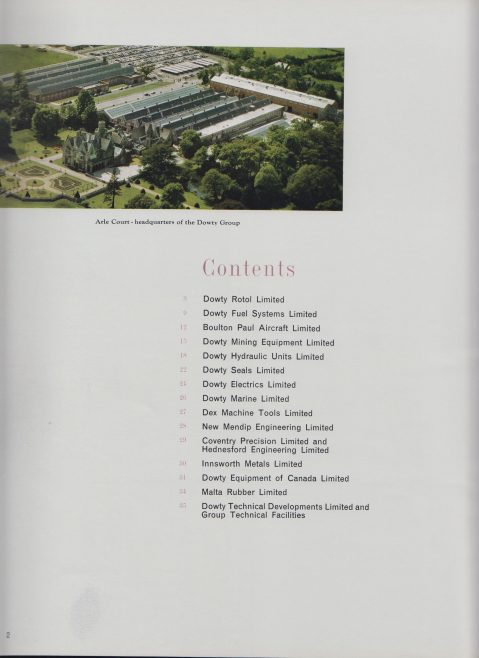 Dowty Group of Companies Profile | Original photo in the Dowty archive at the Gloucestershire Heritage Hub