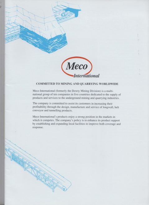 Meco International - Committed to Mining | Alan Hendry