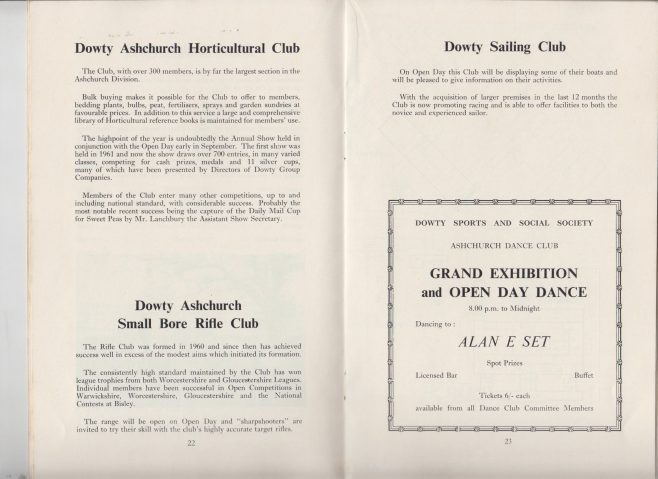 Dowty Ashchurch - Exhibition & Open Day Saturday 7th September 1968 | Alan Welland