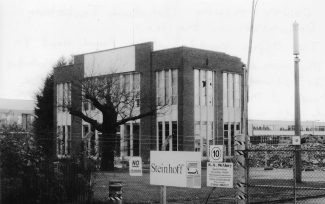 Dowty Seals Site before Demolition 4  | A Nugent