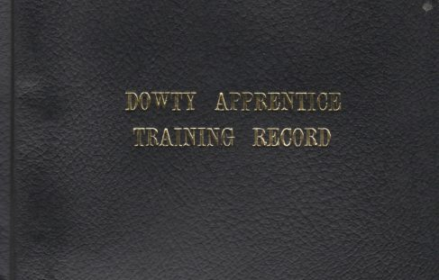 Dowty Apprentice Training Record Book