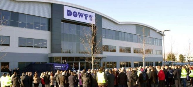 Dowty Propellers' inauguration ceremony for its new facility at Gloucester Business Park  | Dowty Propellers