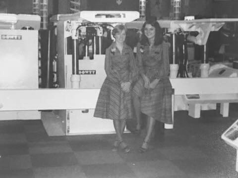 CUMM International Mining Exhibition Birmingham 1977 - on the right Jill Goldstone | Jill Goldstone