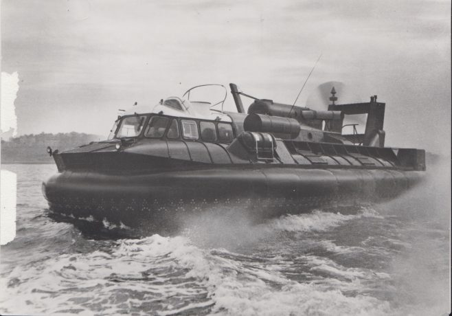 Hovercraft | Original photo in the Dowty archive at the Gloucestershire Heritage Hub