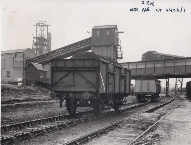 Dowisthorpe Colliery - installed with Dowty Wagon Control System c. 1974 | Original photo in the Dowty archive at the Gloucestershire Heritage Hub