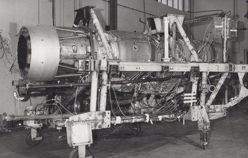 Test Rig for Adour Jet Engine (Jaguar)