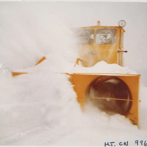 Overassen Snow-Blower | Original photo in the Dowty archive at the Gloucestershire Heritage Hub
