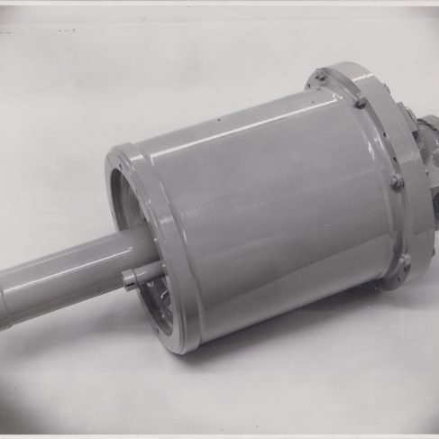 Hydraulic Accumulator | Original photo in the Dowty archive at the Gloucestershire Heritage Hub
