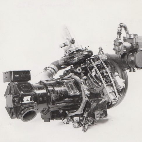 Turbocharger c.1973 | Original photo in the Dowty archive at the Gloucestershire Heritage Hub