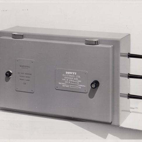 Dowty Control Unit | Original photo in the Dowty archive at the Gloucestershire Heritage Hub