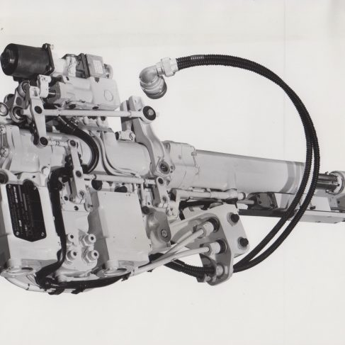 Boulton Paul Tension Arm hydraulic power control unit, with provision for auto-stabilisation | Original photo in the Dowty archive at the Gloucestershire Heritage Hub