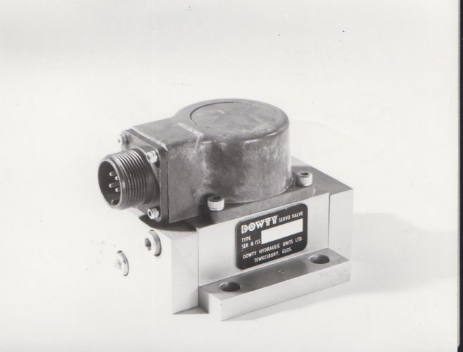 Dowty Servo Valve | Original photo in the Dowty archive at the Gloucestershire Heritage Hub