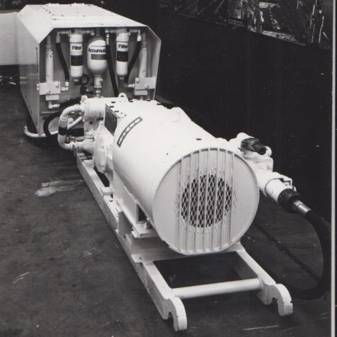 Hydraulic Power Pack | Original photo in the Dowty archive at the Gloucestershire Heritage Hub