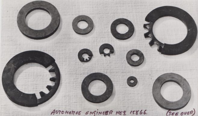 Dowty Seals Selok Rings | Original photo in the Dowty archive at the Gloucestershire Heritage Hub
