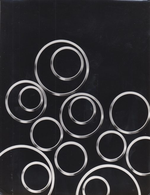Dowty Seal Metal Seal Rings | Original photo in the Dowty archive at the Gloucestershire Heritage Hub