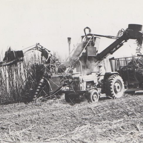 Dowmatic Drive System fitted to Tractor | Original photo in the Dowty archive at the Gloucestershire Heritage Hub