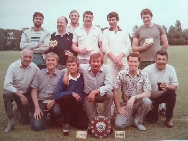 DFS Test Rigs, runner up in 1985 Interdepartmental Cricket Final. Lost in the final to DFS Machine Shop by 33 runs. Having beaten DHU machine shop in Semi final, the 1984 winners. | John Hughes