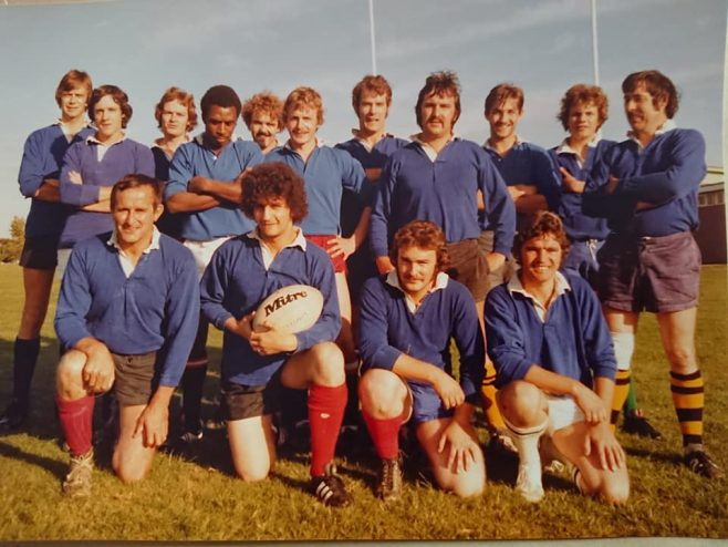 Dowty Electrics Inter Department Rugby team in the 70s | Paul Beard