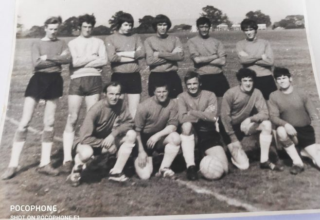 Dowty Rotol No 1 Shop Inter Departmental Football Team 1970 | Kay Taylor