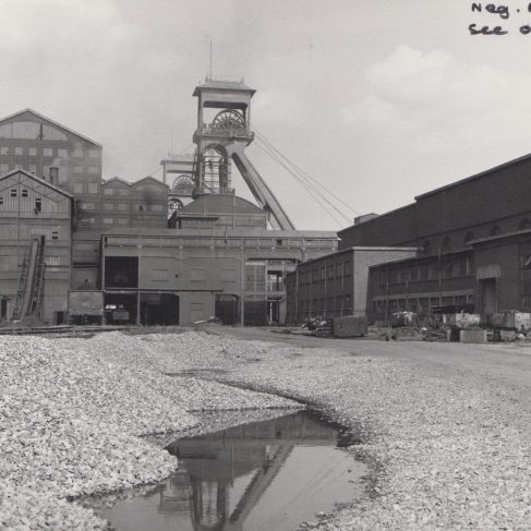 Limbourg Meuse Colliery Belgium June 1965 | Original photo in the Dowty archive at the Gloucestershire Heritage Hub