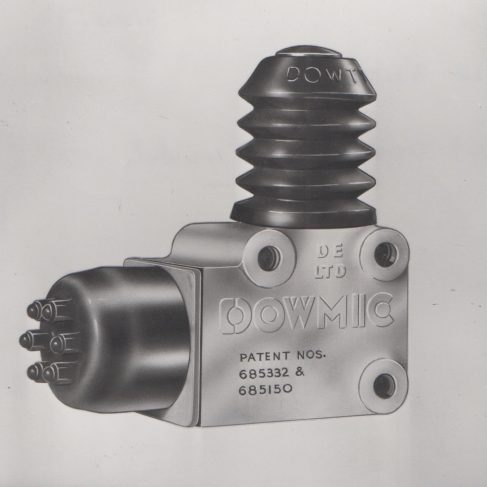 Dowty Electrics - Dowmic Switch | Original photo in the Dowty archive at the Gloucestershire Heritage Hub