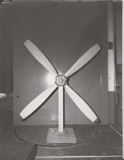 Dowty Rotol - Propeller Test | Original photo in the Dowty archive at the Gloucestershire Heritage Hub