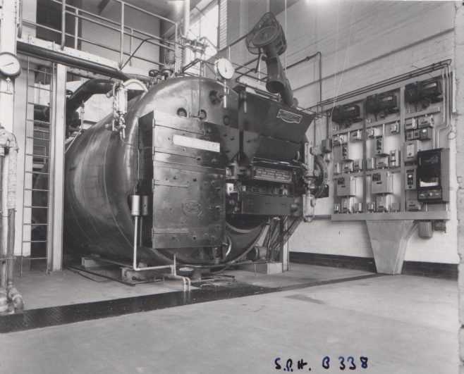 Dowty Seals - Boiler House | Original photo in the Dowty archive at the Gloucestershire Heritage Hub