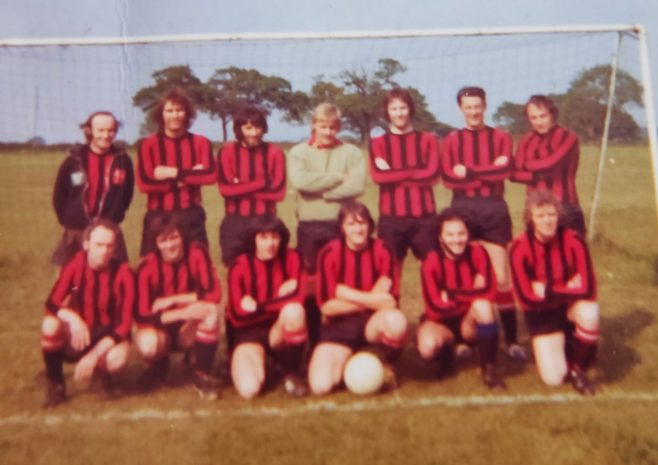Dowty Rotol No 1 Shop Interdepartmental Football Winners 1974 | Kay Taylor