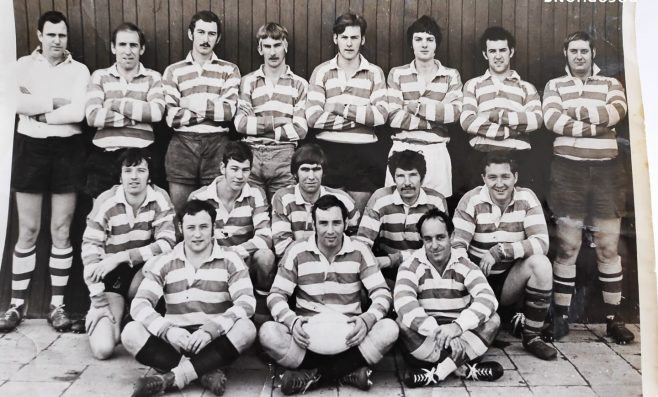 Dowty Rotol Rugby Team 2nd XV 1971 | Kay Taylor