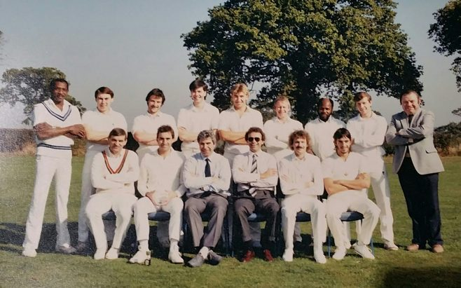 Dowty Rotol Cricket team that won the business trophy 1987 | Rob Smart