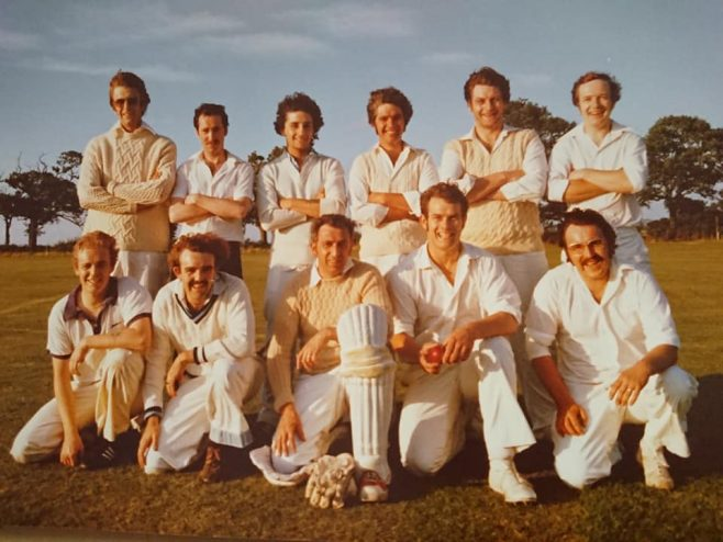 Dowty Electrics Inter Department Cricket team in the 70s | Paul Beard