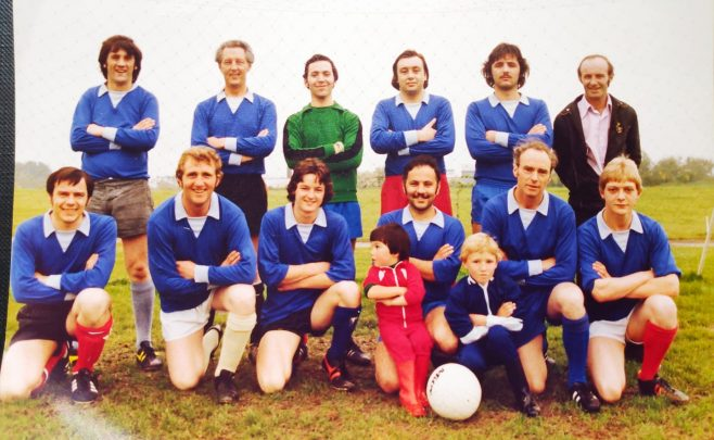 Dowty Rotol No 1 Shop Inter Dept Football team 1977 | Kay Taylor