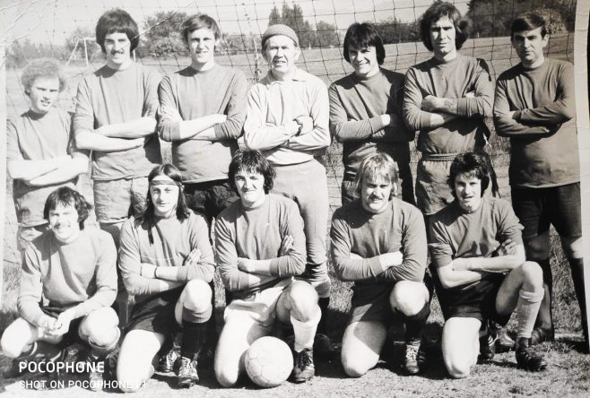 Dowty Rotol  No 1 Shop Inter Dept Football team 1976 Winners | Kay Taylor