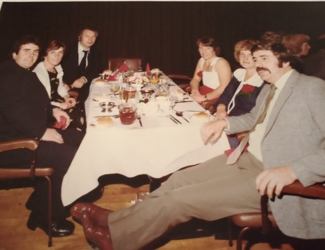 Dowty Seals Christmas 1981 - Cheltenham Racecourse.  | Avril Taylor