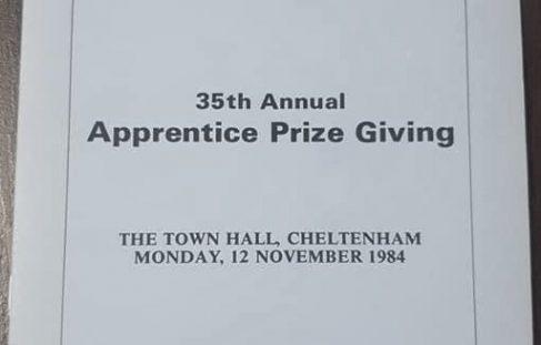 Apprenticeship Prizegiving - 1984