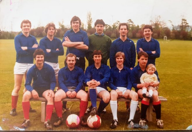 Dowty Fuel Systems - Football Team c.1980's | Kevin Roberts